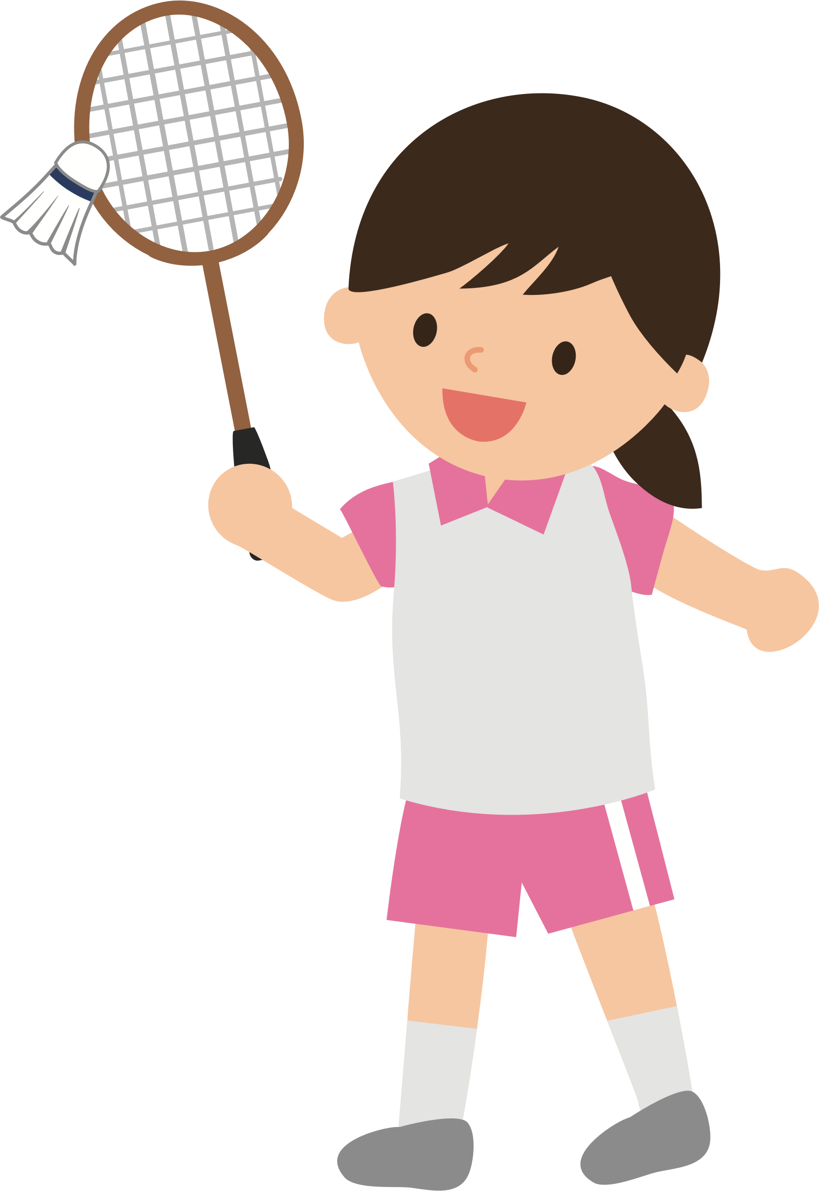 Clipart woman badminton, Clipart woman badminton Transparent.