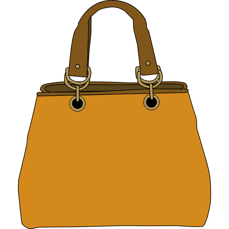 Clipart Woman With Tote Free.
