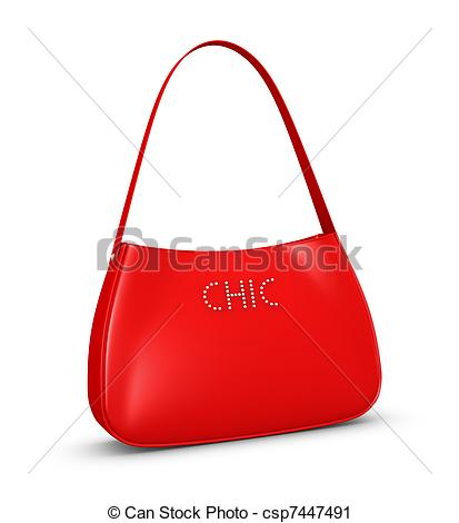 Clipart of woman bag.