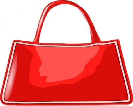 Women bag clip art.