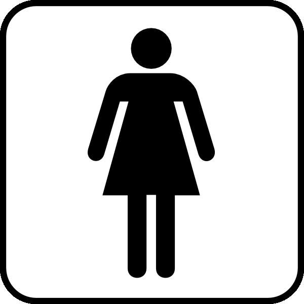 Woman Bathroom Clipart & Free Clip Art Images #25592.
