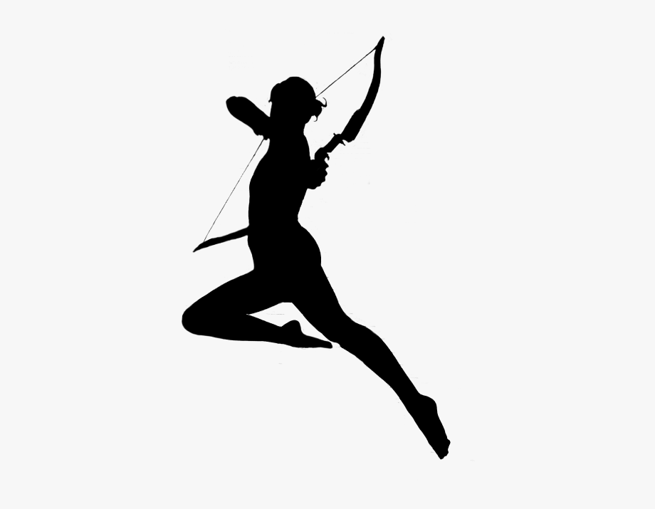 Sagittarius Vector Female Archer.