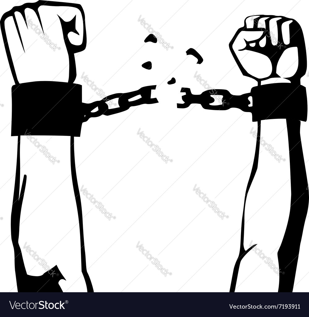 Breaking the chain isolated.
