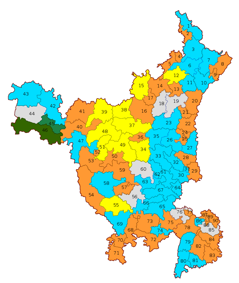 2019 Haryana Legislative Assembly election.