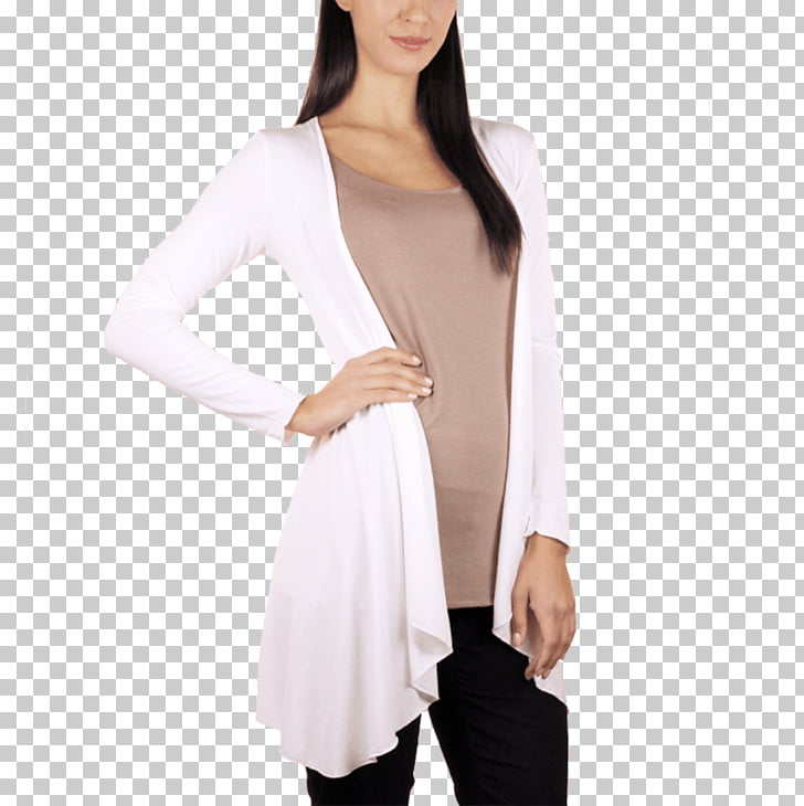 Cardigan Neck Sleeve, woman blazer PNG clipart.