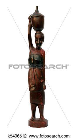 Stock Photo of African souvenir.
