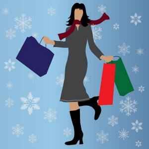 5904 Shopping free clipart.