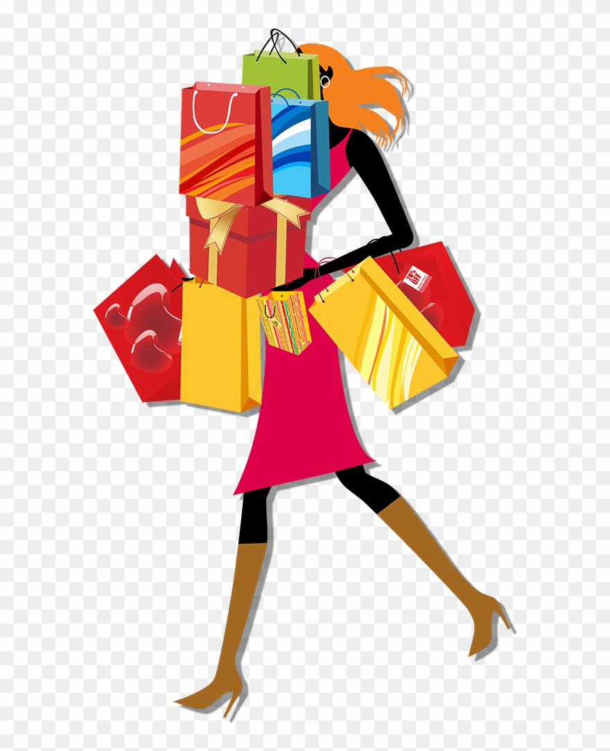 Vector Library Library Bag Woman Clip Art Urban Women.