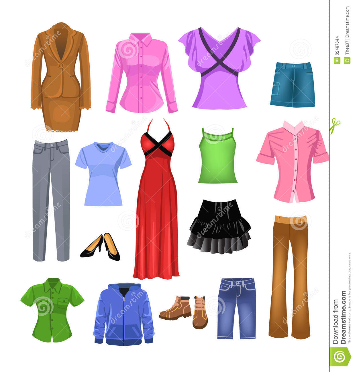 Women clothes clipart 5 » Clipart Station.