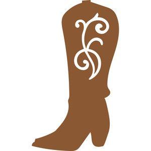 Women\'s cowboy boot.