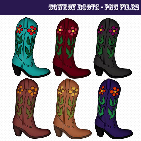 Free Cowboy Boots Images, Download Free Clip Art, Free Clip.