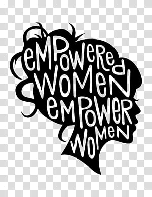 Womens Empowerment transparent background PNG cliparts free.