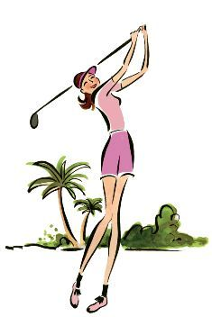 Ladies golf clip art free women golfer golf clips 2.
