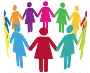 Women Group Clipart.