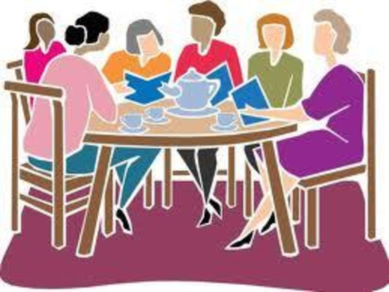 Women\'s Small Group Clipart.