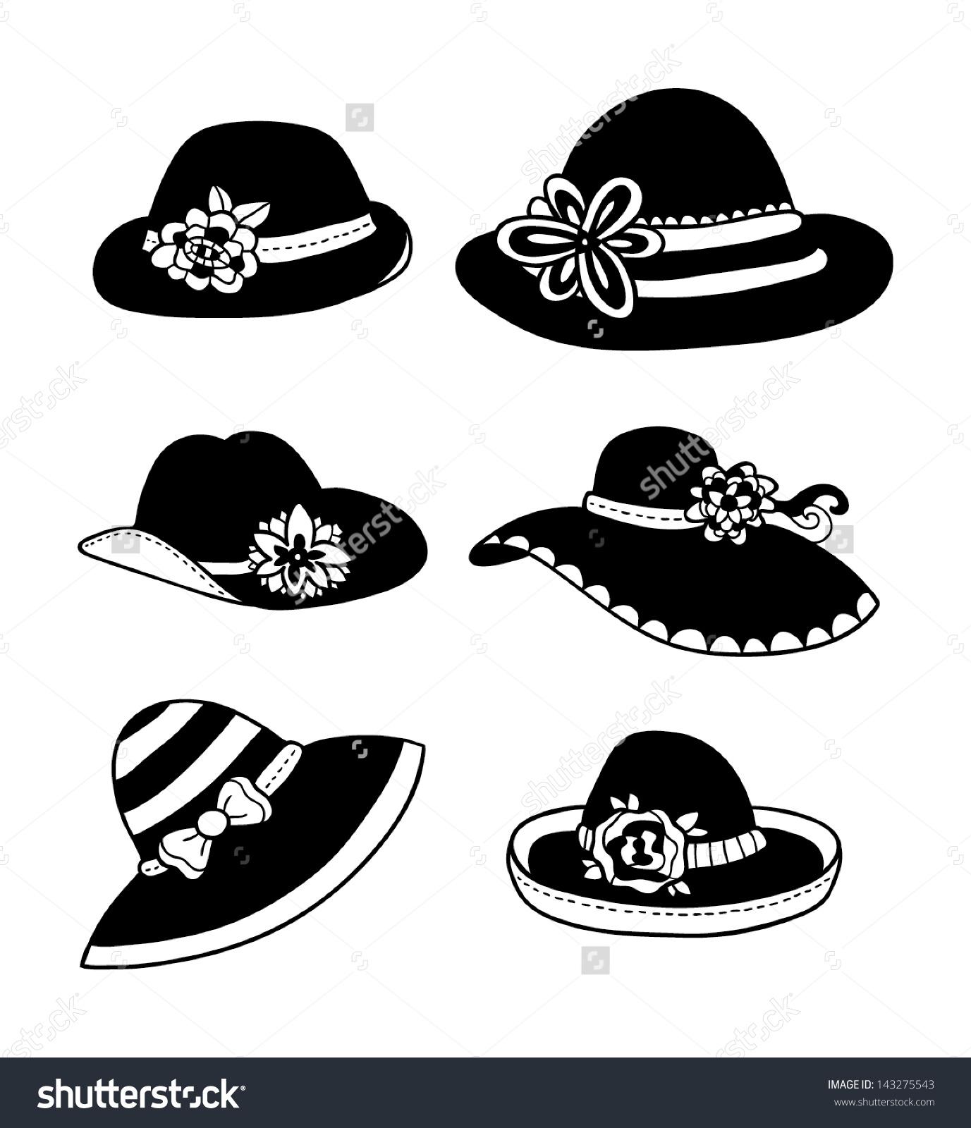 Women's Hats Clip Art (55 ).