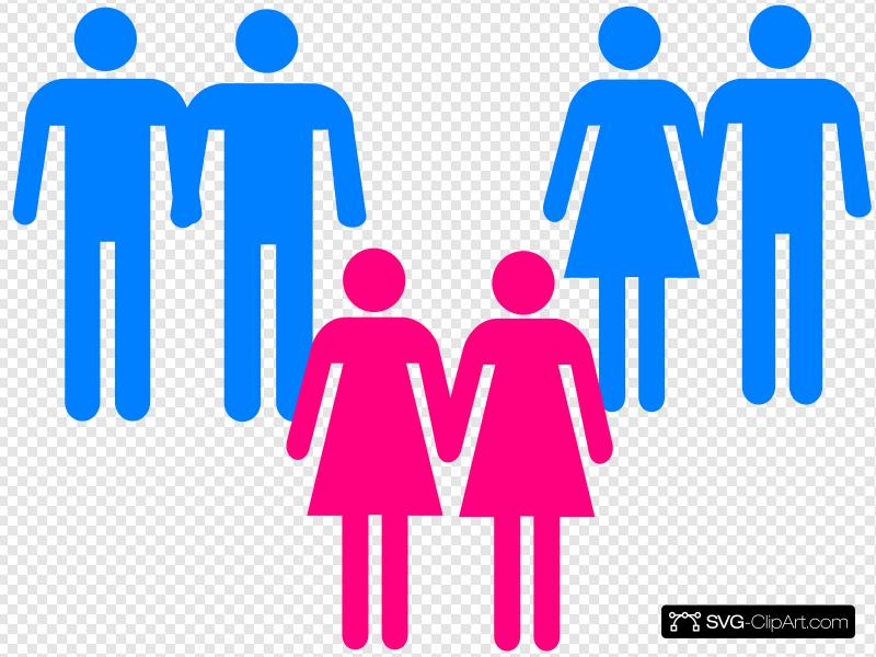Men Women Holding Hands Clip art, Icon and SVG.