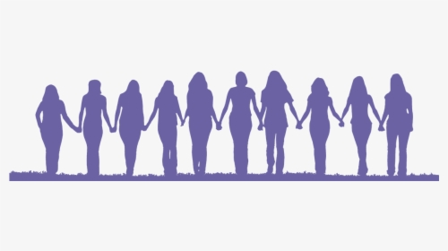 Friendship Silhouette Woman Clip Art.