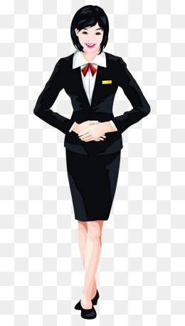 Women Suit Clipart.