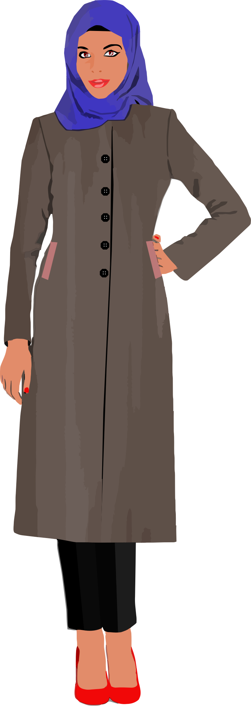Free Muslim Woman Cliparts, Download Free Clip Art, Free.