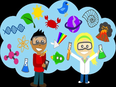 women in science clipart #3