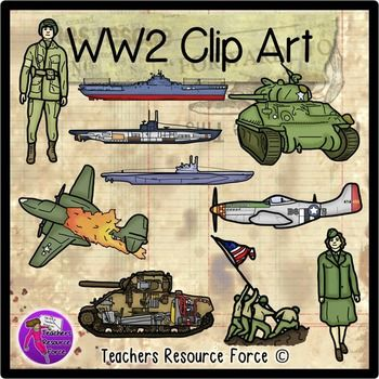 World War 2 clip art.