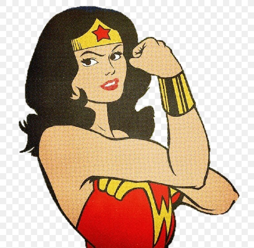 Wonder Woman We Can Do It! Female Rosie The Riveter Superman.