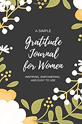 A Simple Gratitude Journal for Women.
