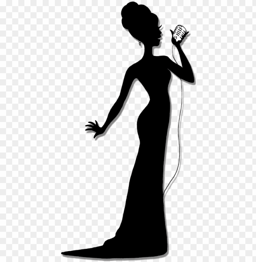 singer silhouette png.
