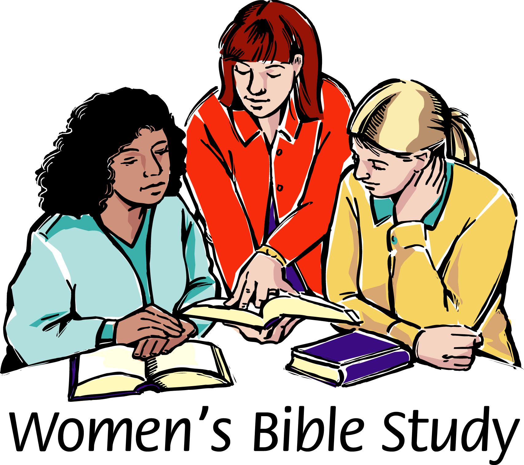 Women Group Meeting Clipart.