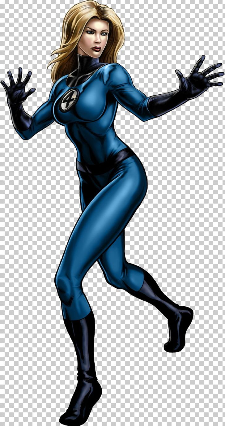 Invisible Woman Fantastic Four Human Torch Thing Marvel.