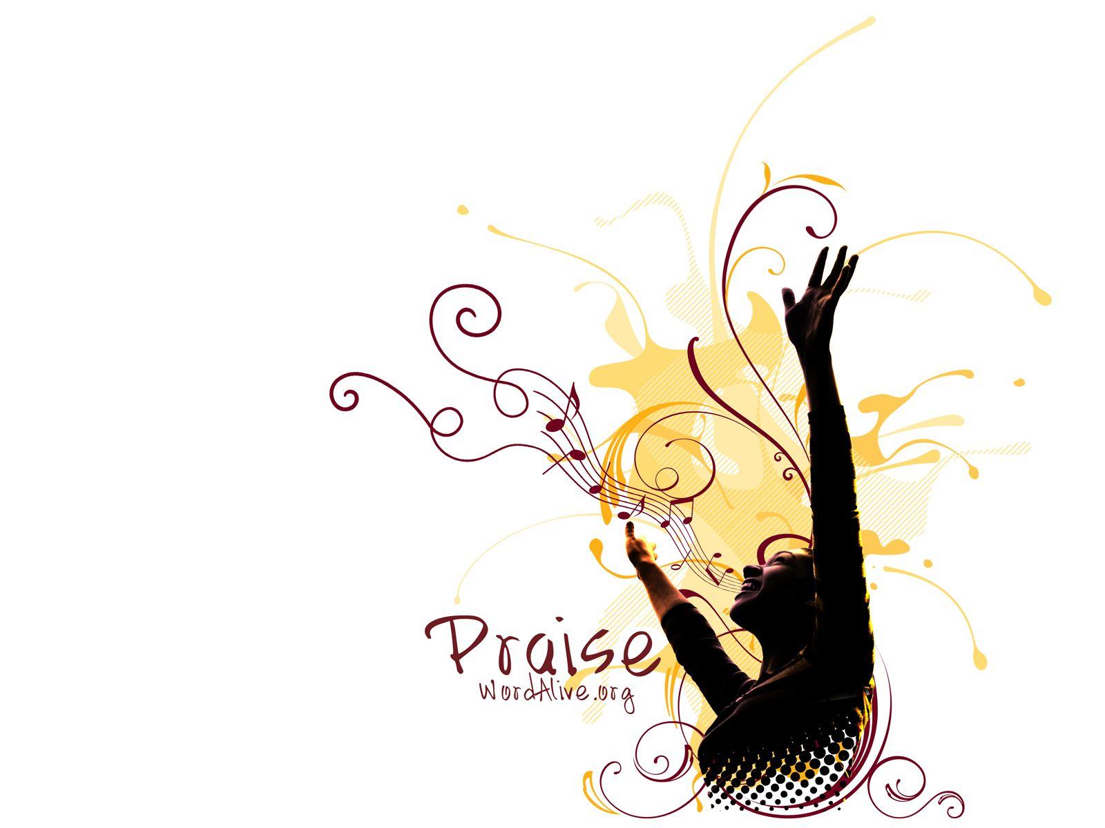 women worshiping the lord.