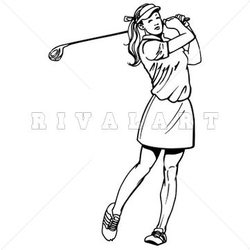 Pin by Rivalart.com on Golf Clip Art.