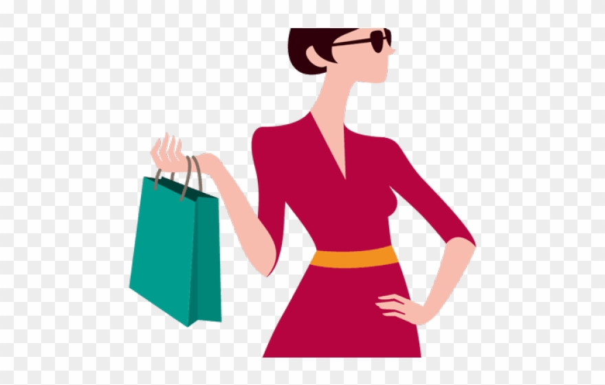 Women Bag Clipart Tall Woman.