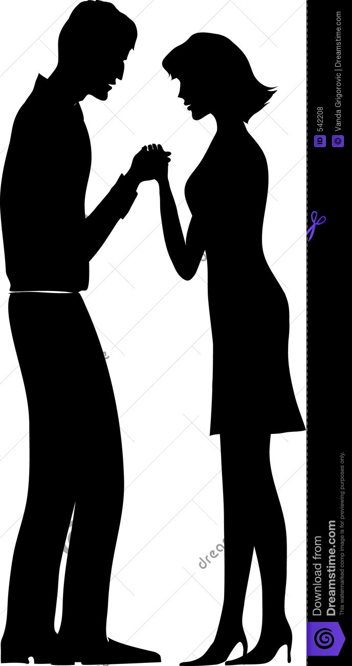 People Praying Together Clipart.
