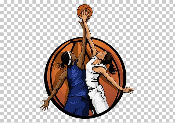 Women\'s basketball Female , basketball, two woman playing.
