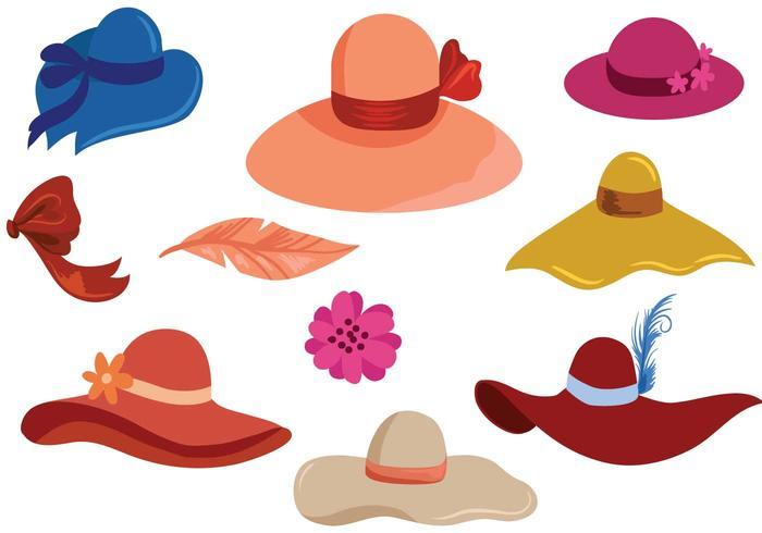 Free Hats Vectors.
