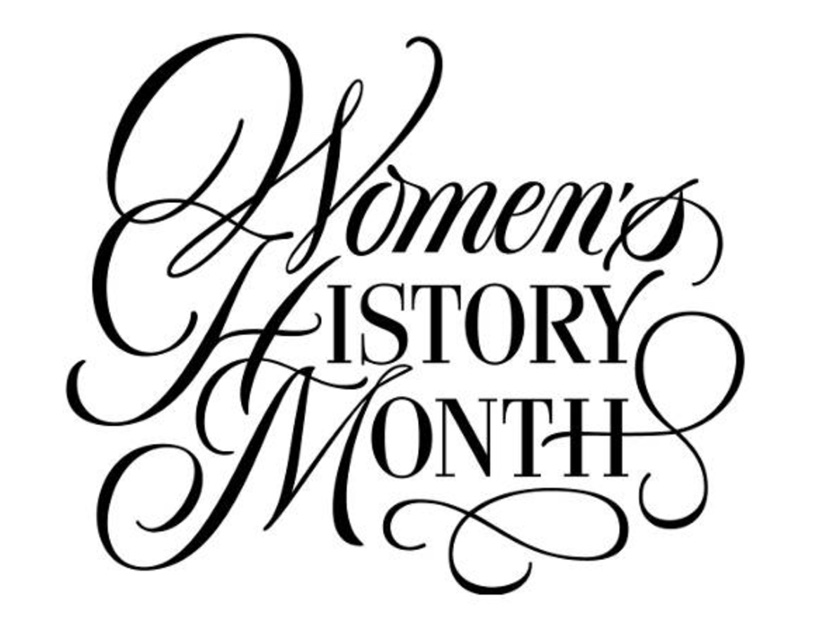 Women\'s History Month Clipart.