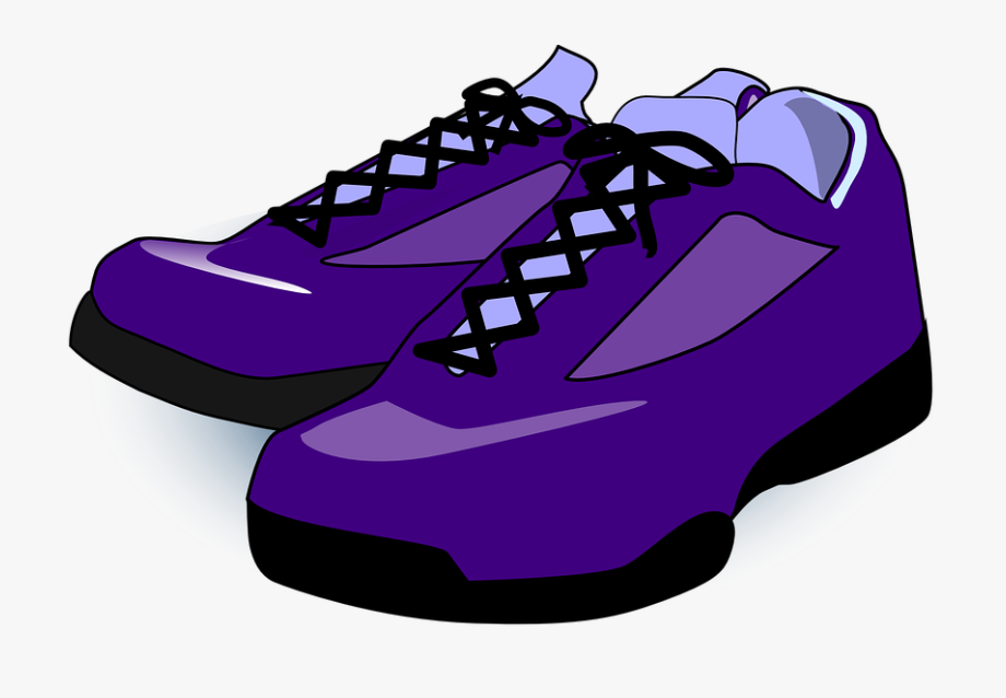 Shoes Sneakers Trainers Purple Tennis Sport.