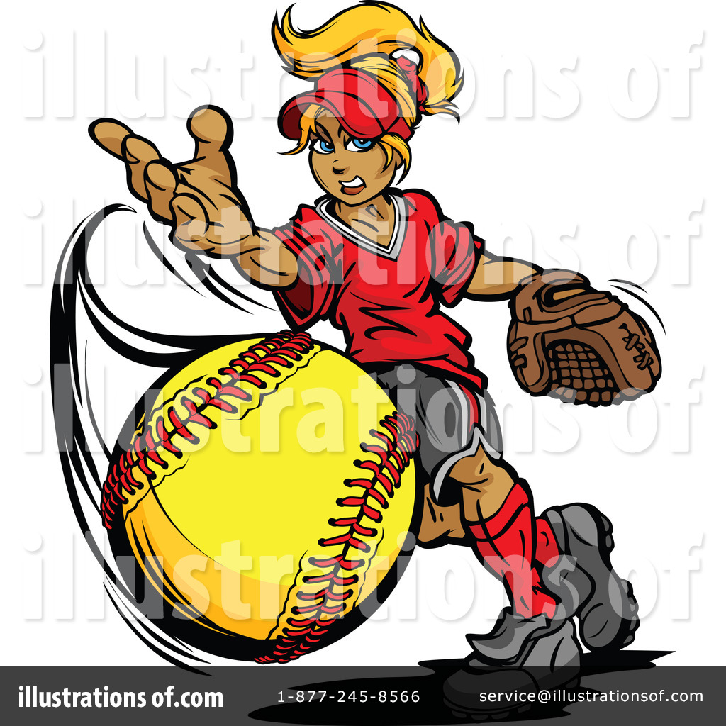 Softball Clipart #1125231.