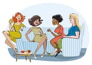 Swanky Women Social Support Network.