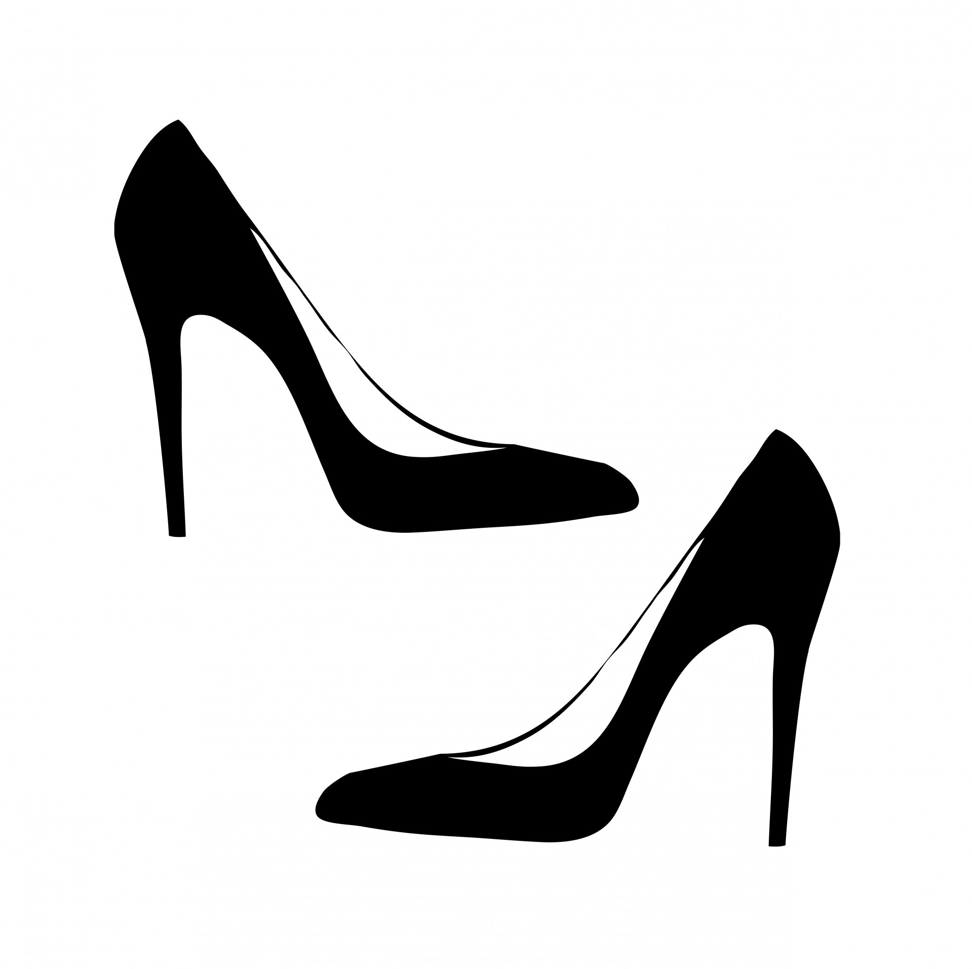98+ Women Shoes Clipart.