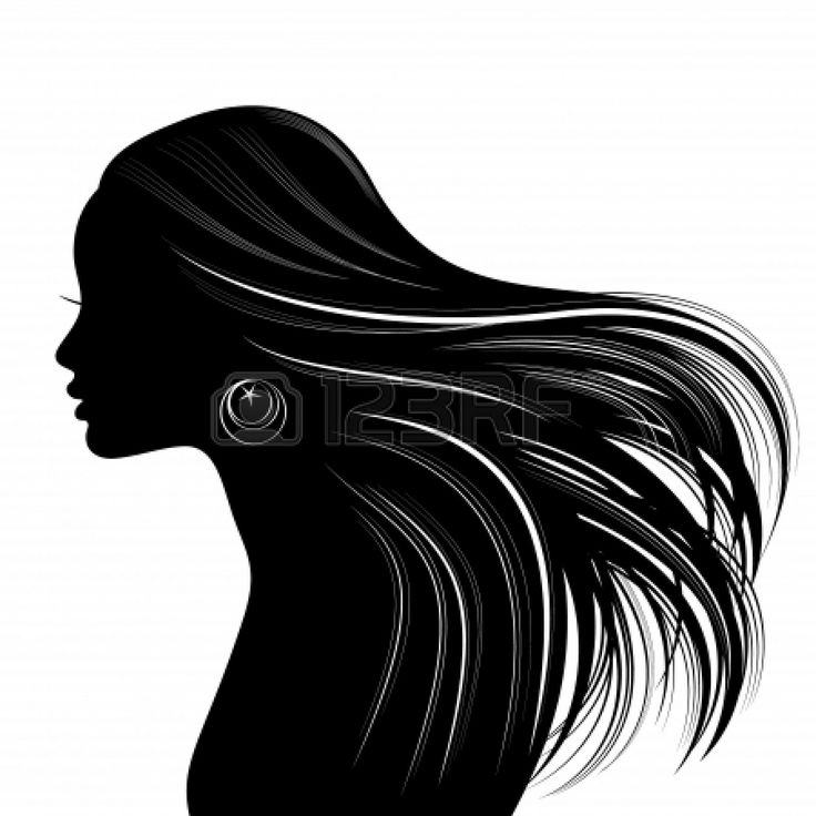 Free Woman Side Profile Silhouette, Download Free Clip Art.