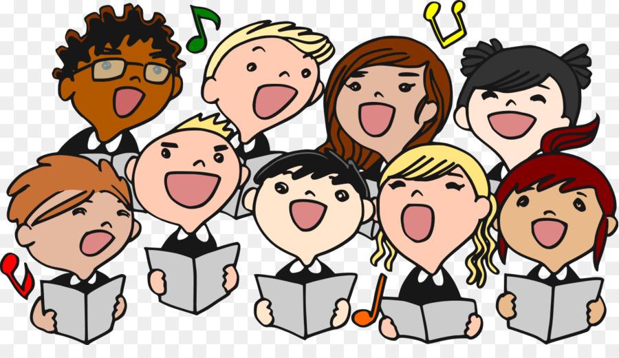 Chorus clipart choir group, Chorus choir group Transparent.