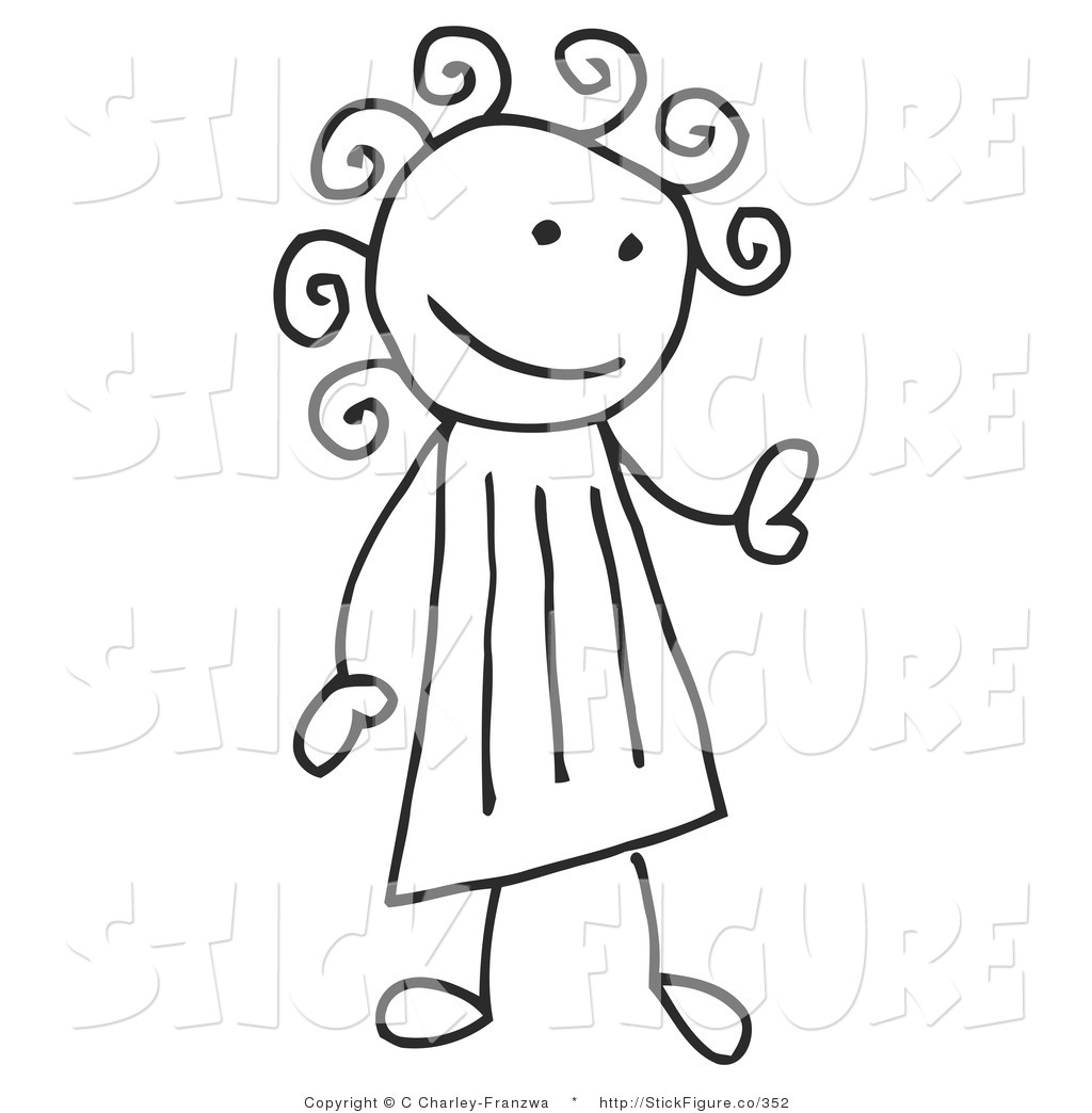 3033 Stick Figure free clipart.