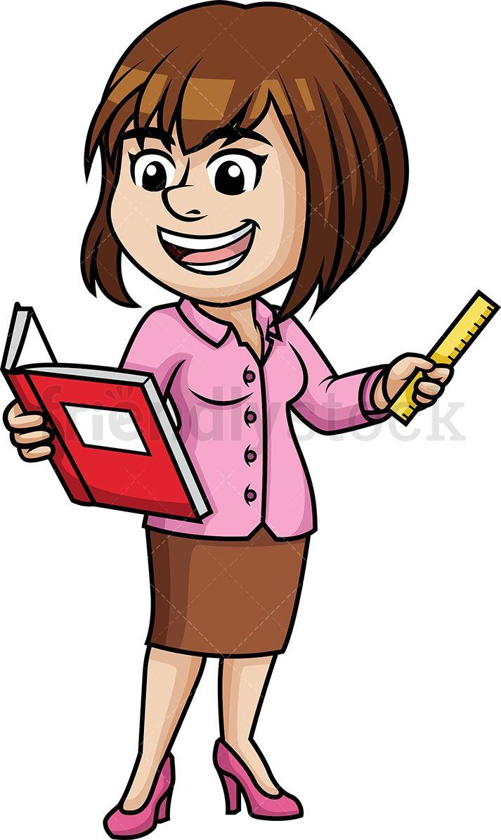 Woman Teaching.
