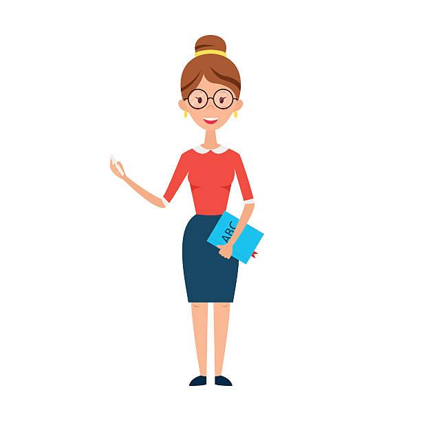 Teacher Girl Clipart.