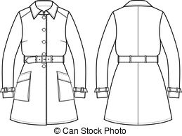 Trench coat Stock Illustrations. 712 Trench coat clip art images.