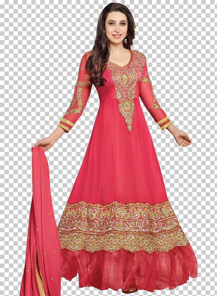 Anarkali Salwar Suit Party dress Georgette, dress, woman.