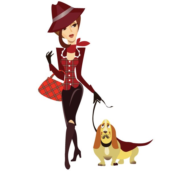 Free Dog Woman Cliparts, Download Free Clip Art, Free Clip.